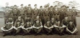6 Platoon, B Company, 2 PARA, Malaya 1965.