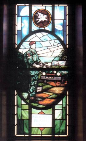 Para Provost Stain Glass Window from Chichester Church