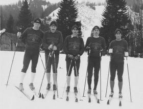 RAC Para Sqn Skiing Team 1976