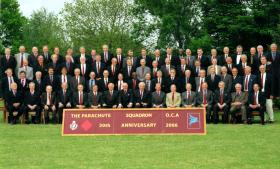 30th Reunion of The Parachute Squadron, Royal Armoured Corp, 2006.