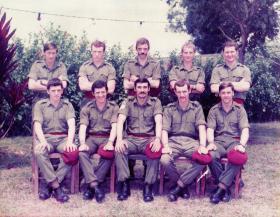 Members of Para Sqn RAC, Exercise Jabbywocky, Malaya, 1975.