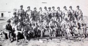 Assault Platoon, 2nd Parachute Battalion, Palestine, 17 September 1946.