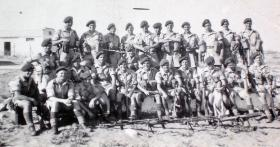 Assault Platoon, 2nd Parachute Battalion, Palestine, 17 September 1946.