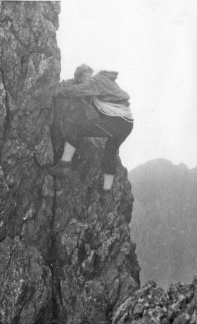 RAF Officer Climbing Instructor