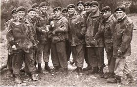 Group photo of men from C Company, 2 PARA, Cyprus, 1959