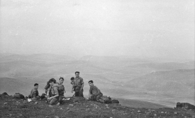 PCAU view from the top - Wales, 1958