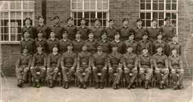 Group Photograph Platoon Intake 242, 1962