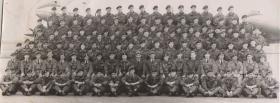 Group Photograph Parachute Training Course No 1 PTS RAF Abingdon 1956