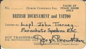 British Tournament & Tattoo USA 1969