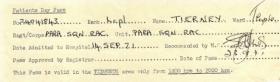 Tidworth Military Hospital Escape Voucher