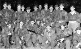 Paratroopers from Guards Parachute Coy on Operation Foxhunter, Cyprus, 1956