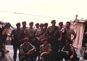 Paratroopers in Tented Camp, Aden, 1967