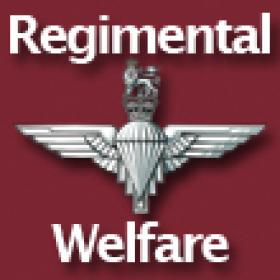 RHQ PARA Regimental Welfare Logo