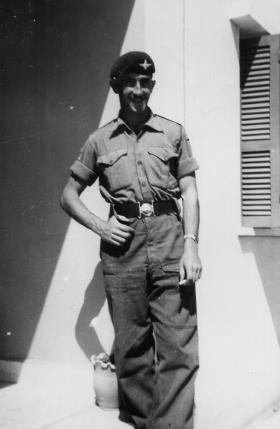 George Parry, 2 PARA,  in Cyprus, 1959