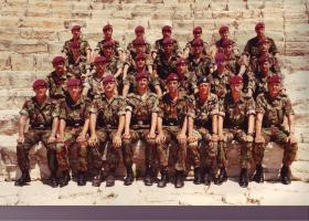 Pathfinder platoon, Cyprus, June 1985.