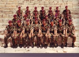 Pathfinder platoon, Cyprus, June 1985.