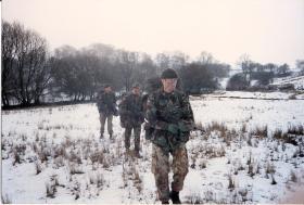 Patrols Cadre, 1 PARA, 1990.