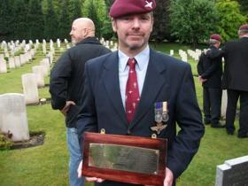 Paul Burns, Aldershot Military Cemetery, 2012.