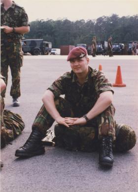 Paul Davis at Cherry Point during Ex Purple Star, North Carolina, 1996