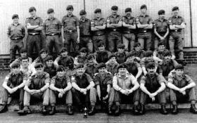 Comms Troop, 216 Parachute Signal Squadron, Montgomery Lines Aldershot, 1970s.