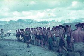 D Company 1 Para, payday in Radfan, circa 1965
