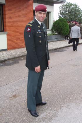 Belgian Paratroop Officer, 2009.