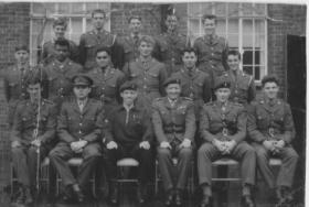 Officers on P Coy Aldershot Summer 1964