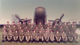Group Photo Parachute Clearing Troop 16 Field Ambulance