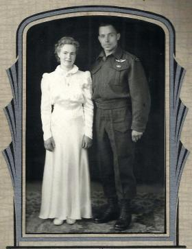 Pete and Beth Modderman's wedding photo, date unknown.