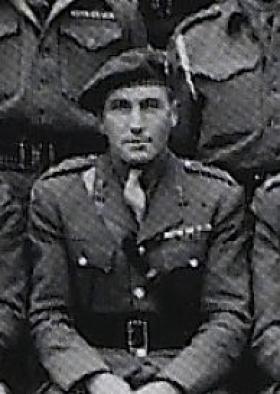 OC T/Maj Miller, 300th Airlanding Anti-Tank Battery, RA, 1945.