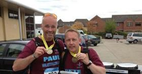Pete's Para Challenge for the Afghan Trust, 2014.