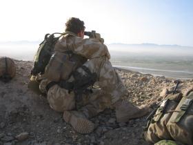 Pathfinder OP, Sangin, Afghanistan, Op Herrick IV, 2006.