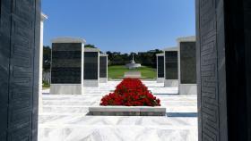 Phaleron War Cemetery, Greece.