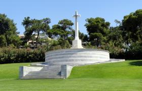Phaleron War Cemetery, Athens Greece.