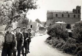 Members of 6 Pln, 3 PARA, Cyprus, 1958.