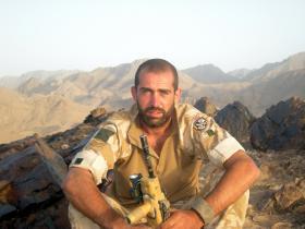 Sgt 'Bernie' Manning, Operation Herrick VIII, Afghanistan 2008.