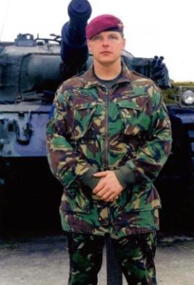 Phillip Train, 2 PARA, c1990s.