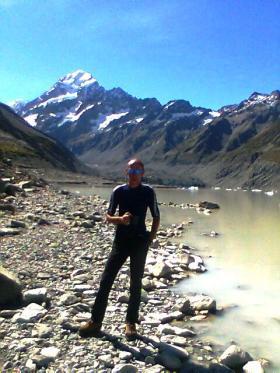 David Bainbridge in the mountains
