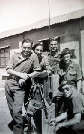 Members of 1st Parachute Bn with No 18 Wireless, Palestine, c1947.