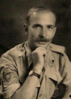 Portrait of CQMS Williams
