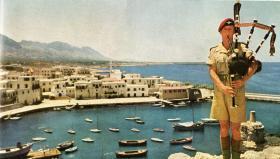 John Patrick Finn, Irish Guards, Kyrenia Cyprus, 1951.