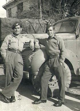 Two members of 4th Para Bn, Greece 1944.