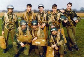 374 Platoon, Parachute Training at Abingdon, 1972.