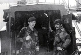 3 Platoon A Coy 1 PARA in Belfast 1972