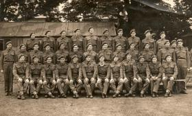 No 9 Platoon, C Company, 3rd Parachute Battalion, taken at Spalding, Lincolnshire, in July 1944