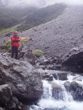 David Bainbridge in the mountains again