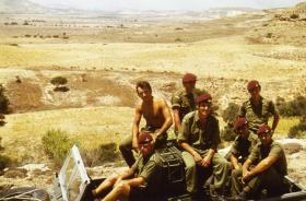 Members of X Vigilant Platoon in Cyprus c1974