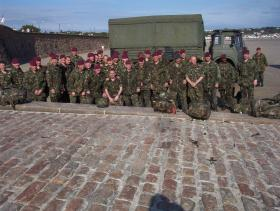 Members of 144 Para Med Sqn, St Helier Jersey, 2002