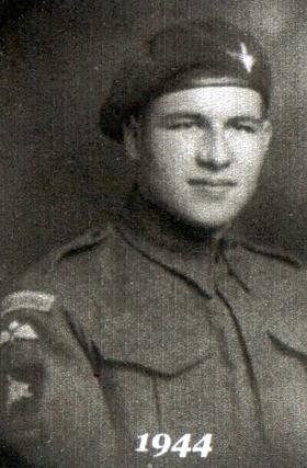 Private William Austin, 1944.