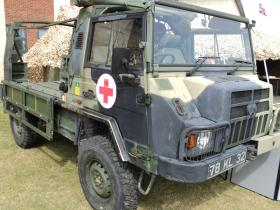 A Pinzgauer TUM (HD) in service with 16 Close Support Medical Regiment, Colchester, 2010.